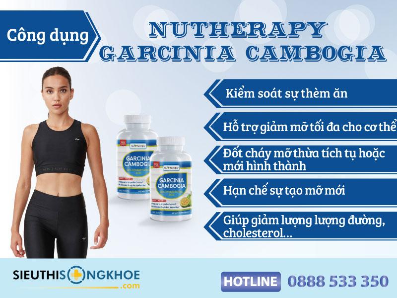cong dung vien giam can nutherapy garcinia cambogia