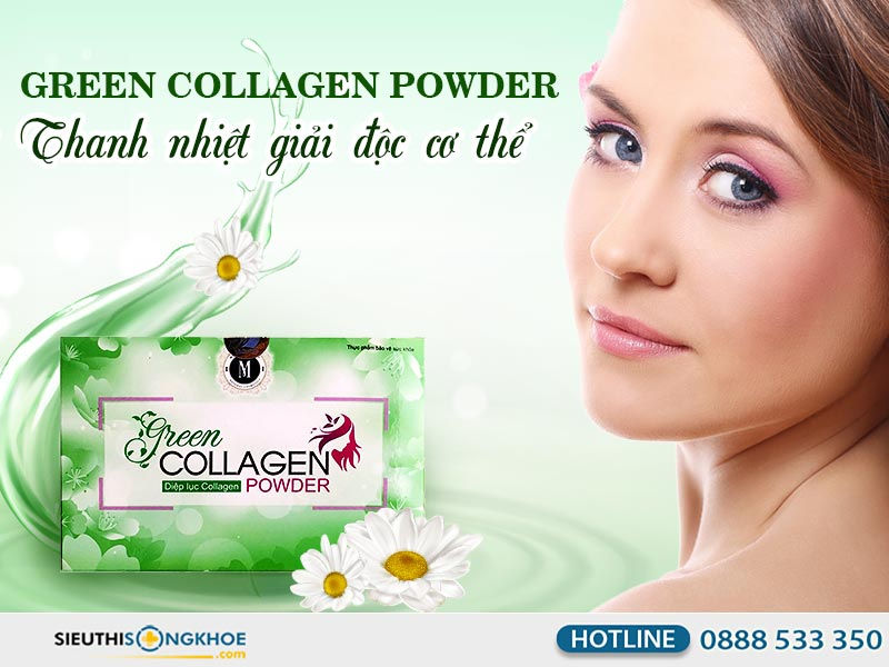 green collagen powder