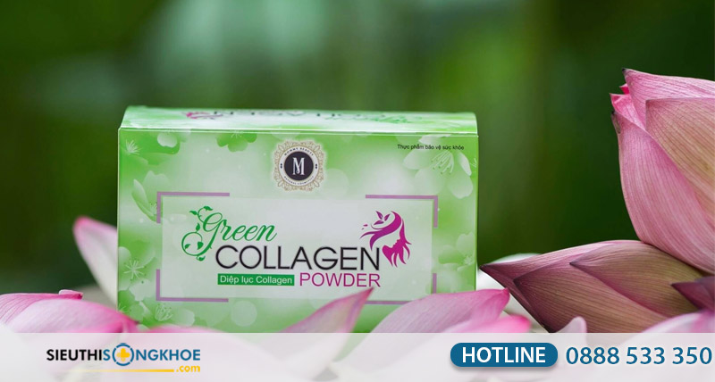 green collagen power co tot khong