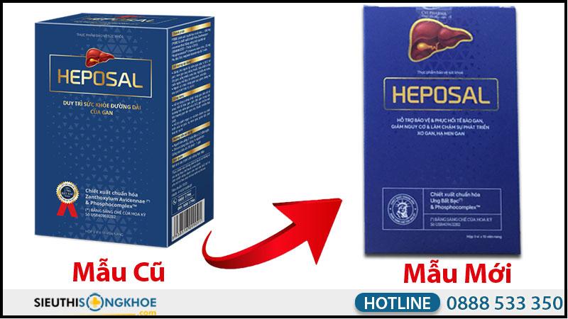 hộp heposal mẫu mới