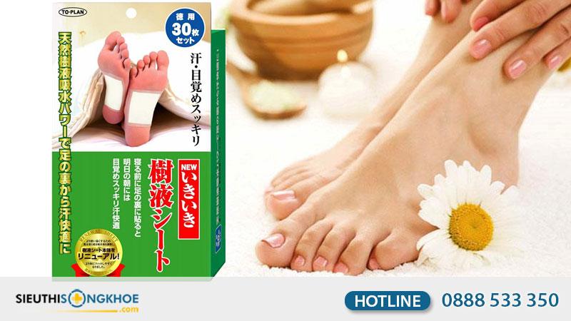 miếng dán thải độc chân Kenko