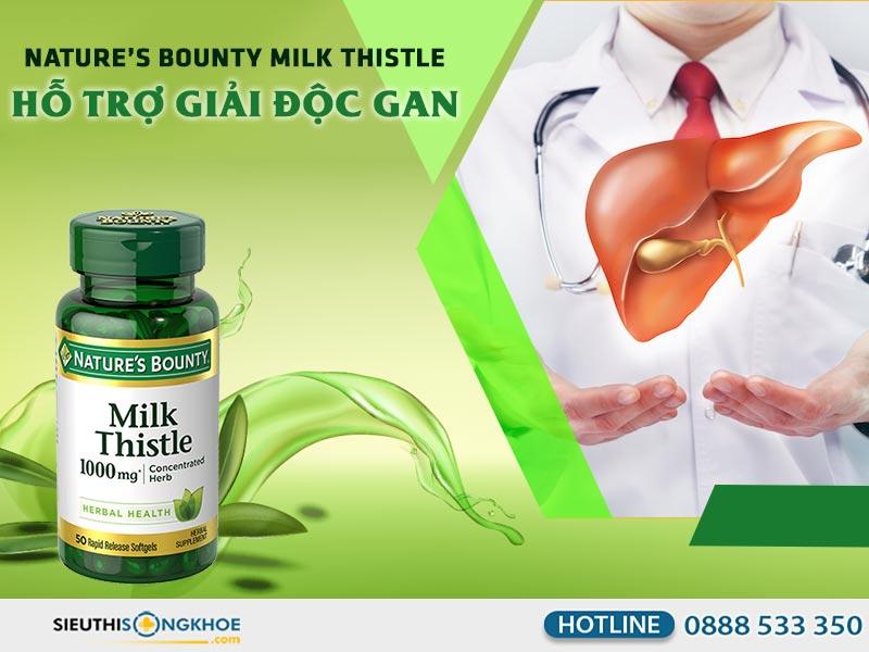 silymarin milk thistle nature's bounty