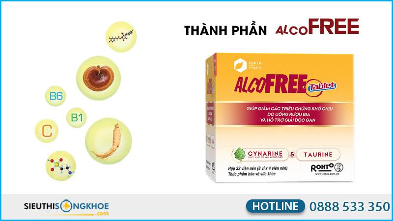 thành phần alcofree