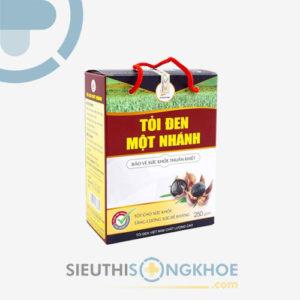 Tỏi Đen Một Nhánh Việt Nam – Ổn Định Mỡ Máu, Tăng Cường Sức Đề Kháng
