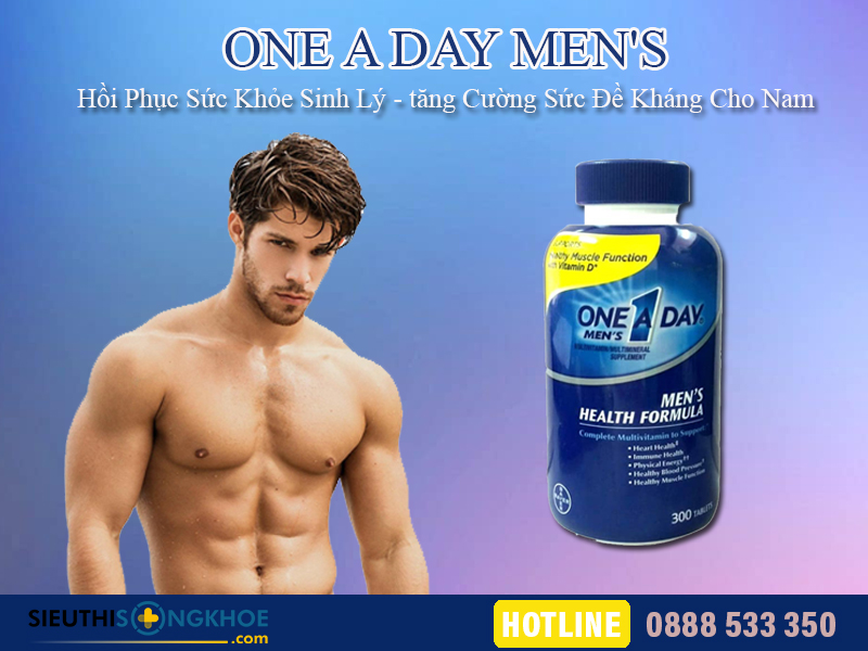 vien bo sung dinh duong one a day men's 1