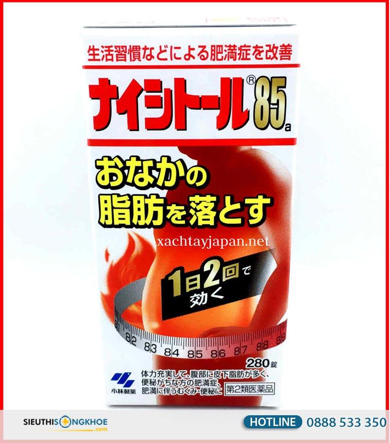 giảm cân naishitoru 85 kobayashi