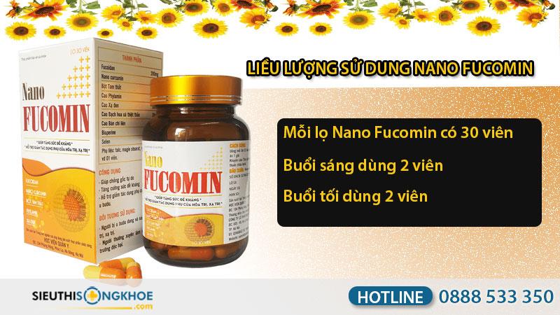 hướng dẫn sử dụng nano fucomin