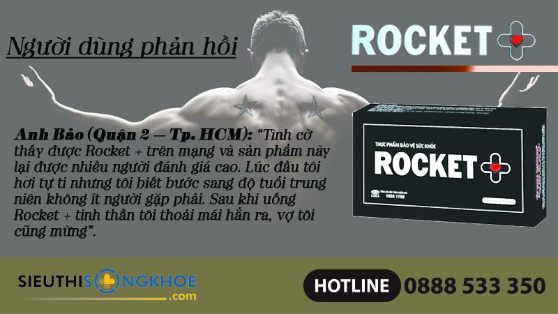 phan hoi khach hang rocket plus