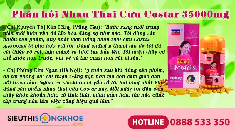 phan hoi khach hang nhau thai cuu costar 35000mg