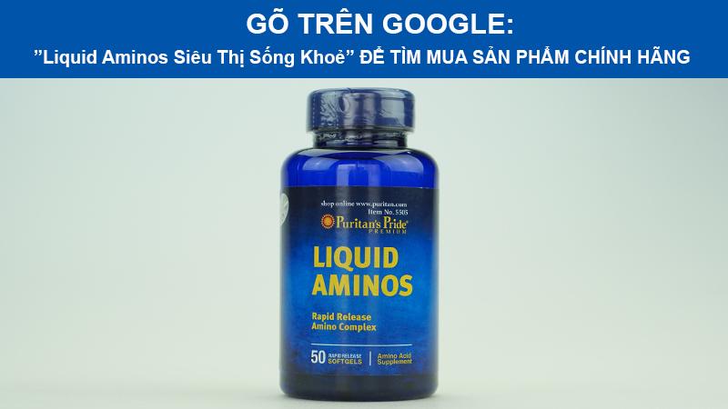 tem xac thuc liquid aminos