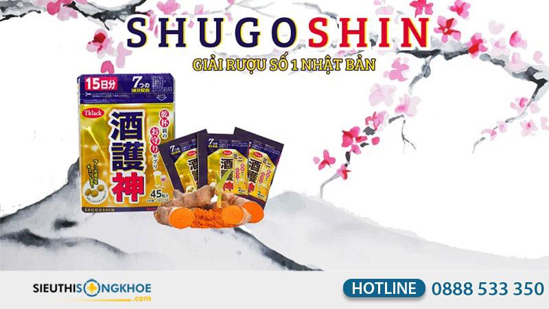 Viên uống giải rượu Shugoshin