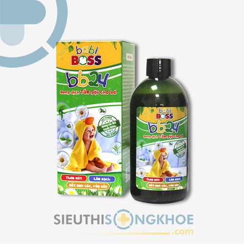 Nước Tắm Em Bé BB24 - Chăm Sóc Cơ Thể & Ngăn Ngừa Vi Khuẩn Gây Hại Trẻ