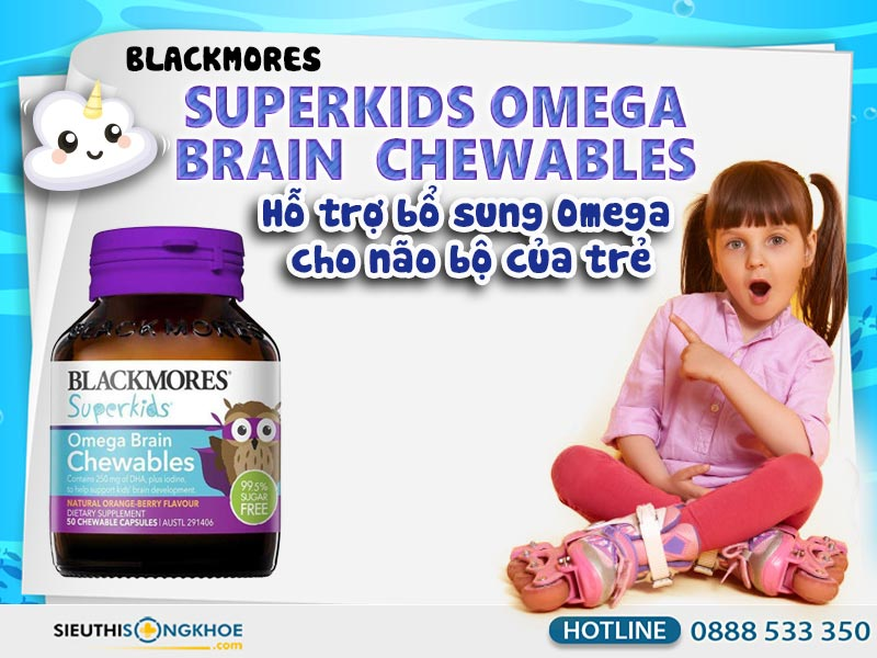blackmores superkids omega brain chewables