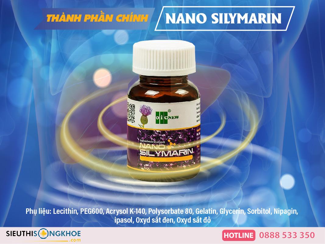 bổ gan nano silymarin oic
