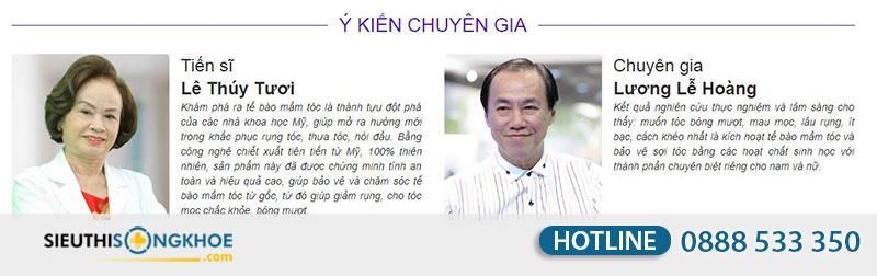 chuyen gia noi ve phan hoi vien moc toc qik hair for women