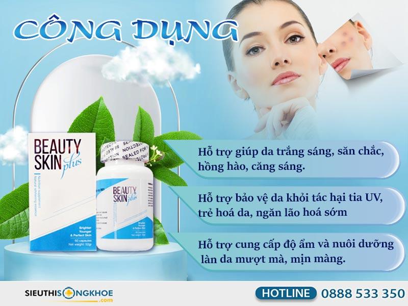 công dụng của beauty skin plus