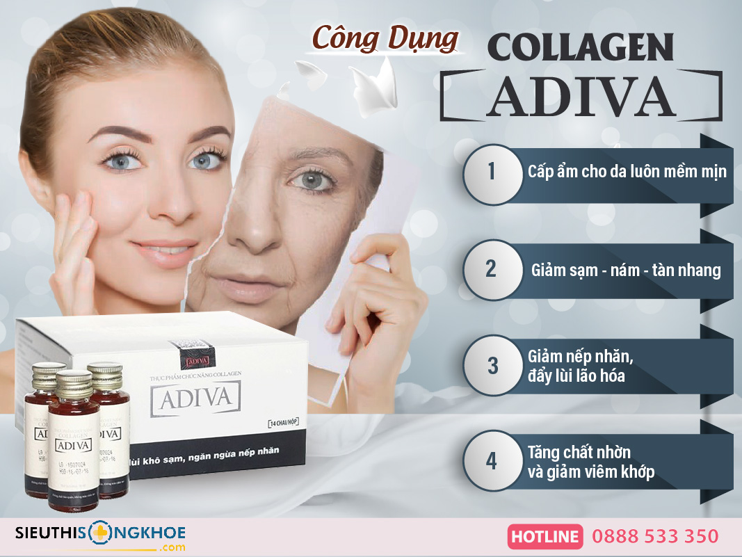 cong dung nuoc collagen adiva
