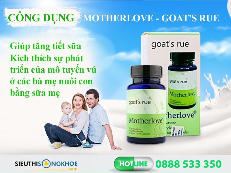 cong dung vien loi sua motherlove goat's rue