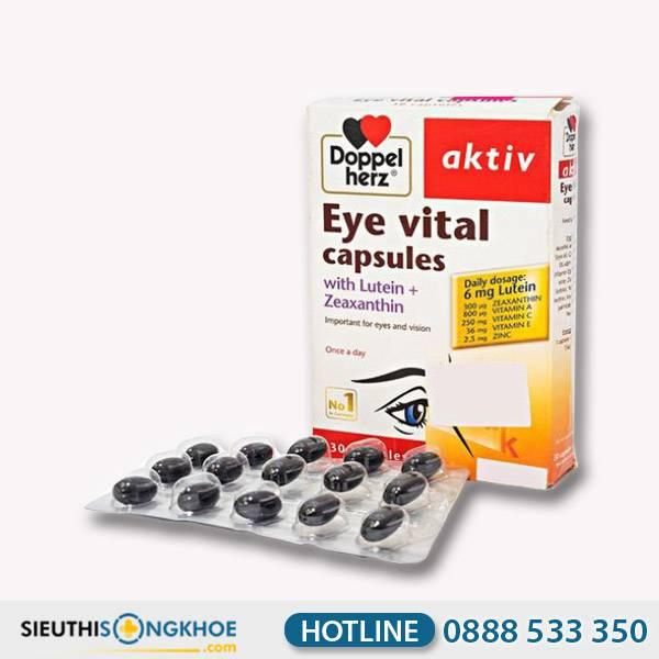 Eye Vital Capsules - Viên Uống Hỗ Trợ Tăng Cường Thị Giác