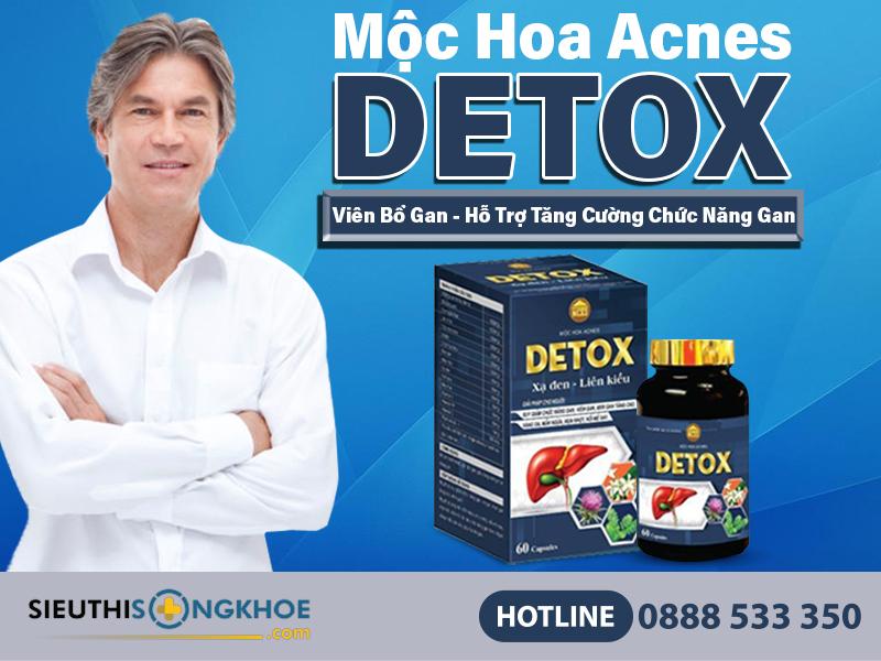 moc hoa acnes detox