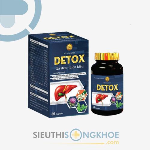 Mộc Hoa Acnes Detox - Hỗ Trợ Giải Độc Gan, Tăng Cường Chức Năng Gan Hiệu Quả