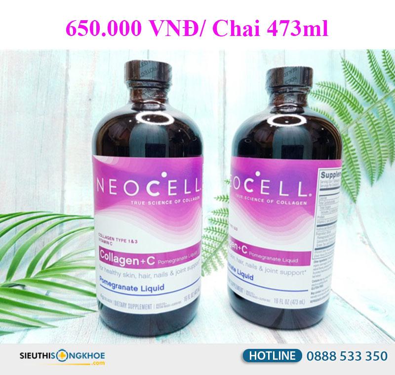 neocell collagen +c dang nuoc gia bao nhieu
