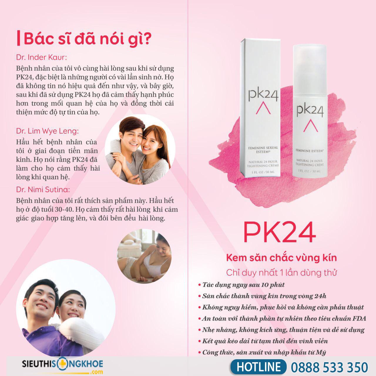 Gel pk24 giá bao nhiêu