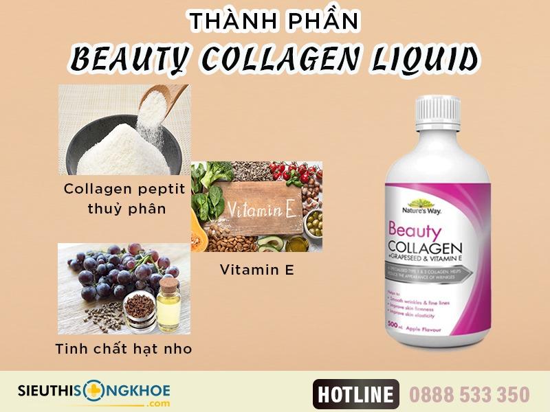 thanh phan nuoc duong da beauty collagen liquid