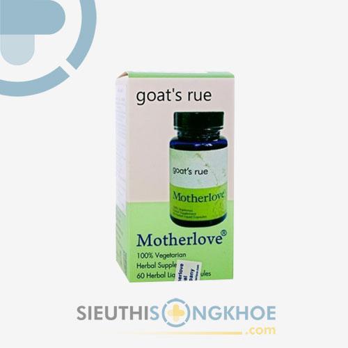 Motherlove Goat's Rue - Viên Lợi Sữa Cho Mẹ Mới Sinh
