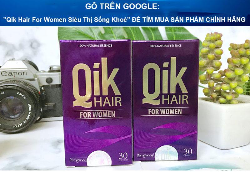 vien moc toc qik hair for women sieu thi song khoe