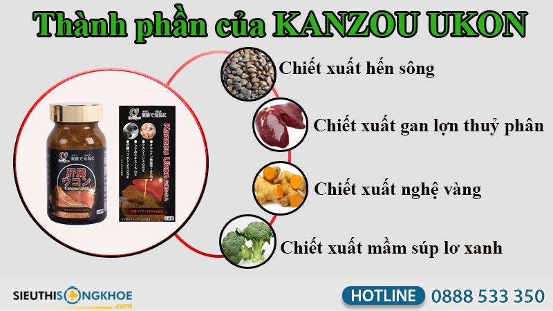 viên uống kanzou ukon 6