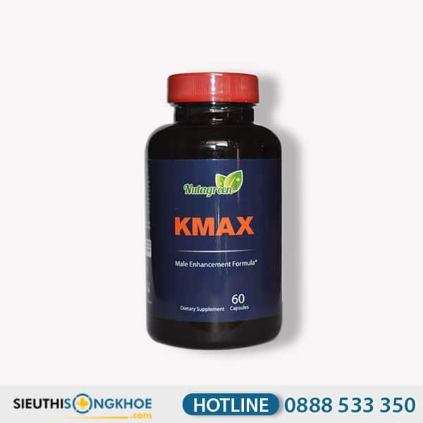 Kmax - Viên Uống Hỗ Trợ Cải Thiện Chất Lượng Tinh Binh & Cải Thiện Kích Cỡ Cậu Nhỏ