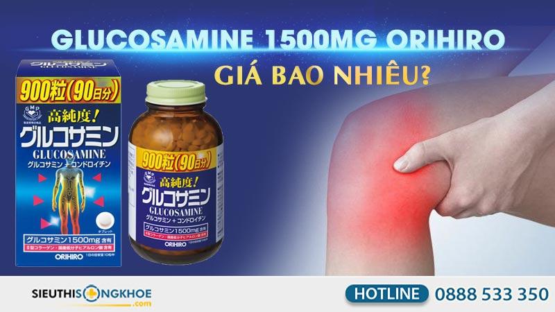 vien xuong khop glucosamine 1500mg orihiro gia bao nhieu