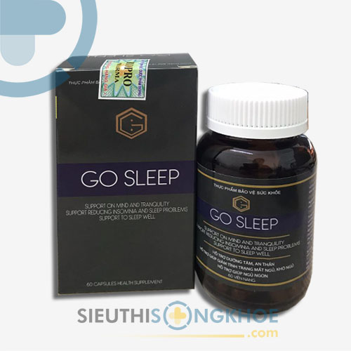Go Sleep - Viên Uống Hỗ Trợ An Thần, Ngủ Ngon Giấc
