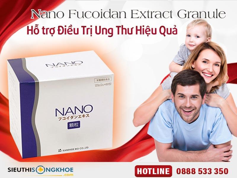 bot ho tro dieu tri ung thu nano fucoidan extract granule