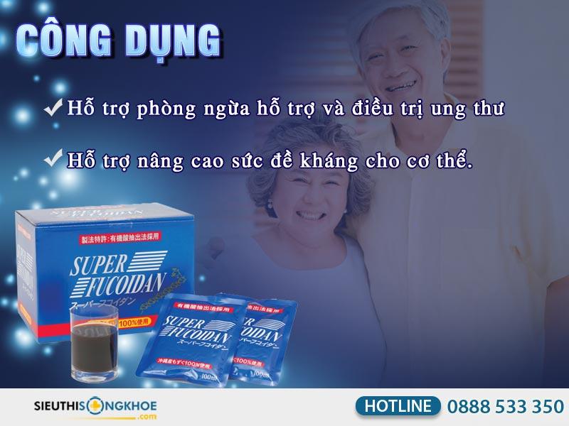 cong dung nuoc ho tro dieu tri ung thu super fucoidan