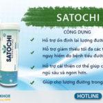 Satochi - Viên Sủi Hỗ Trợ Điều Trị Bệnh Tiểu Đường