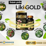 Liki Gold - Viên Uống Thảo Mộc Hỗ Trợ Điều Trị Viêm Xoang