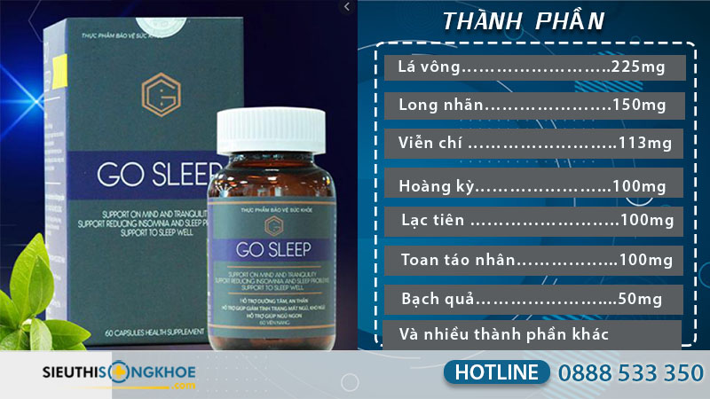 viên uống go sleep