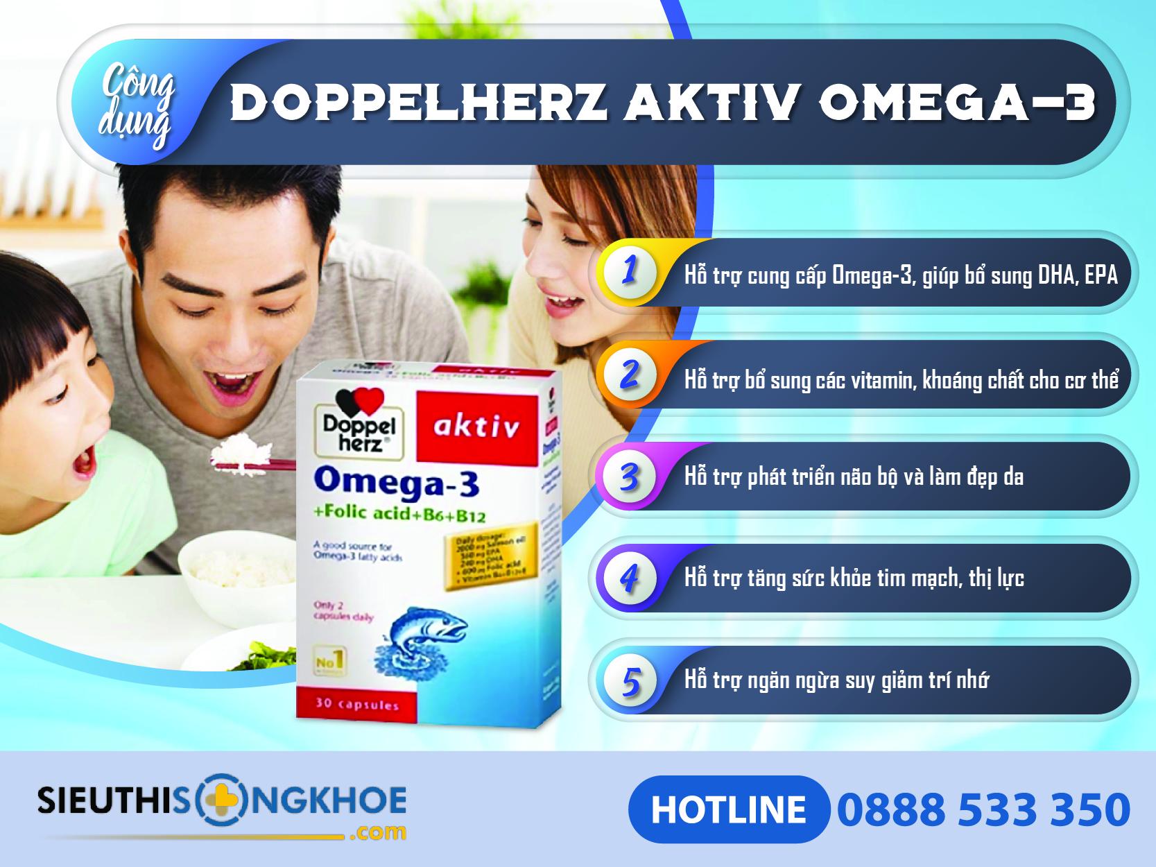 cong dung dau ca doppelherz aktiv omega 3