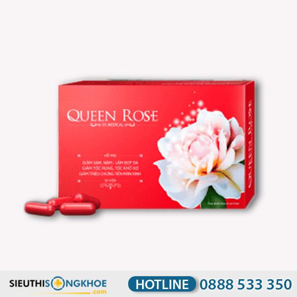 Queen Rose - Viên Uống Hỗ Trợ Duy Trì Xuân Sắc Phụ Nữ