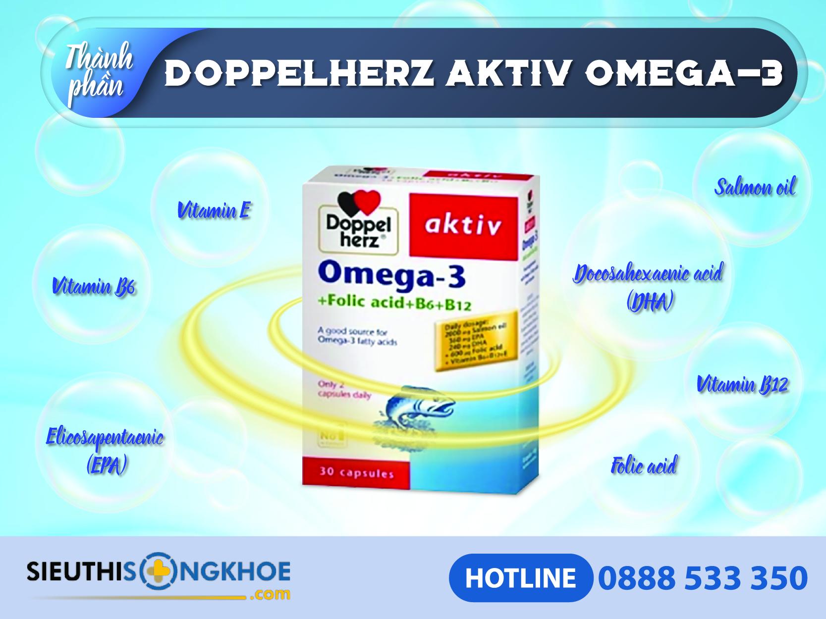 thanh phan dau ca doppelherz aktiv omega 3