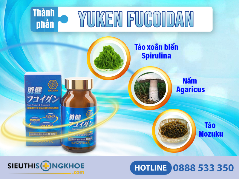 thanh phan vien ho tro dieu tri ung thu yuken fucoidan