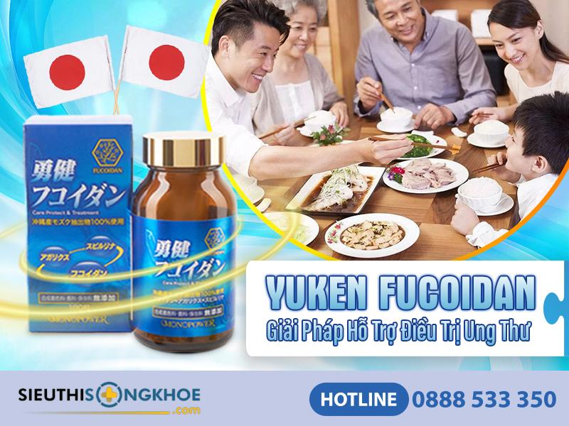 vien ho tro dieu tri ung thu yuken fucoidan