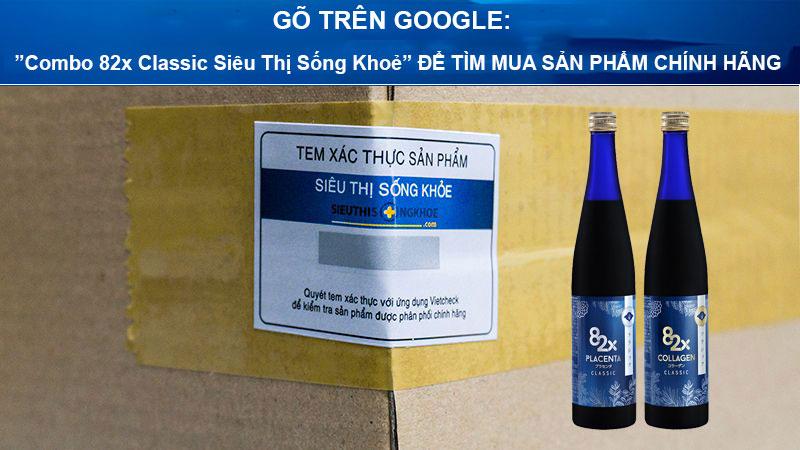 combo nuoc uong 82x classic sieu thi song khoe