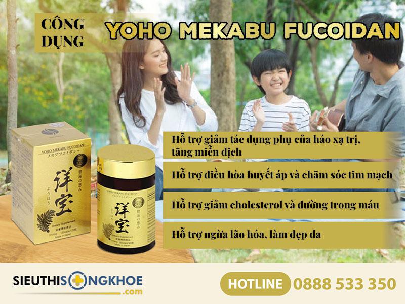 cong dung vien ho tro tri ung thu yoho mekabu fucoidan