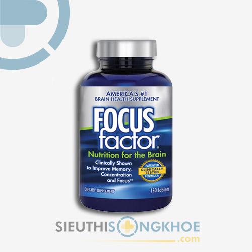 Viên Uống Focus Factor - Hỗ Trợ Tăng Cường Sức Khoẻ Não Bộ