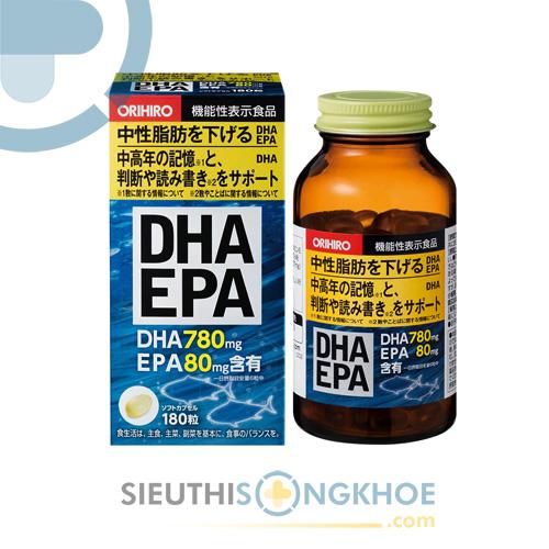 DHA EPA Orihiro – Viên Uống Bổ Não Đến Từ Nhật Bản