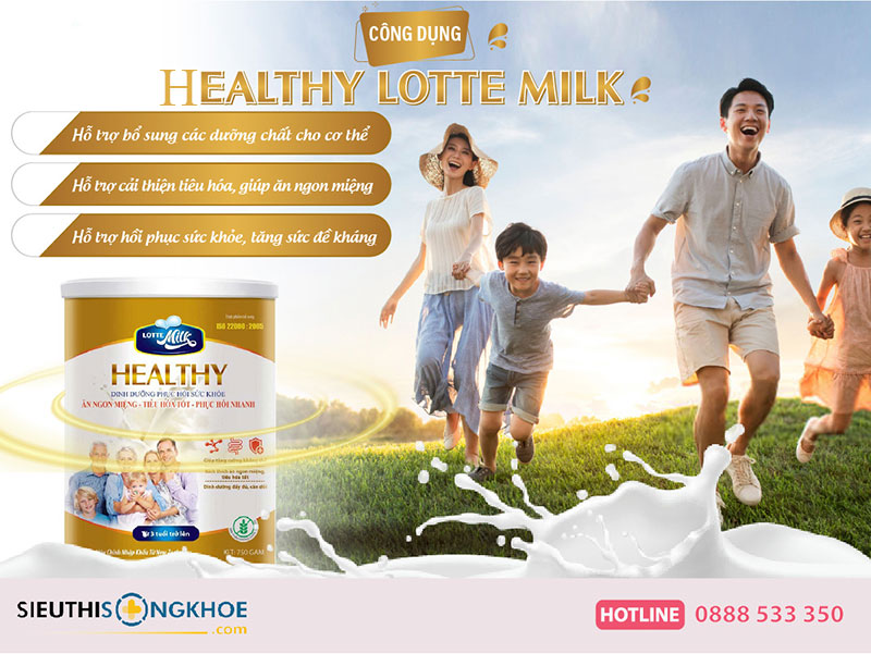 Sữa bột Healthy