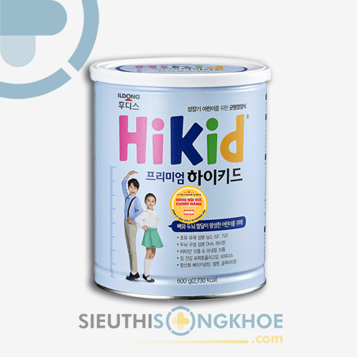 Sữa Hikid - Sản Phẩm Đem Lại Hệ Xương Chắc Khoẻ Cho Bé Cao Lớn Từng Ngày